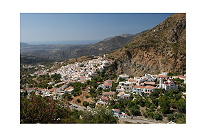 The village Aperi of Karpathos