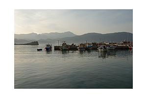 Fishing boats in Pigadia