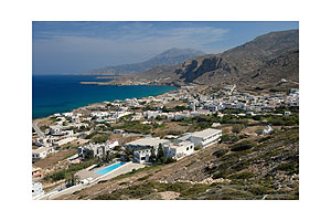 View to Arkassa, Karpathos